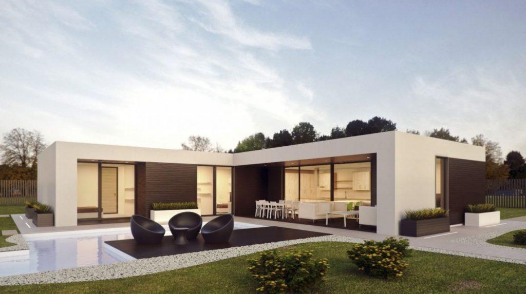 Modern Moduar Home
