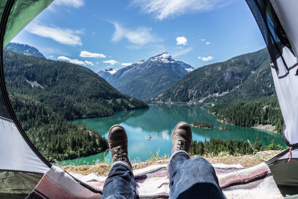 camping at diablo lake